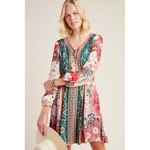 New Anthropologie Farm Rio Topanga Mini Dress